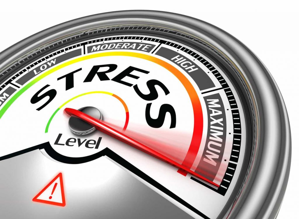 Graphic image of Stress level